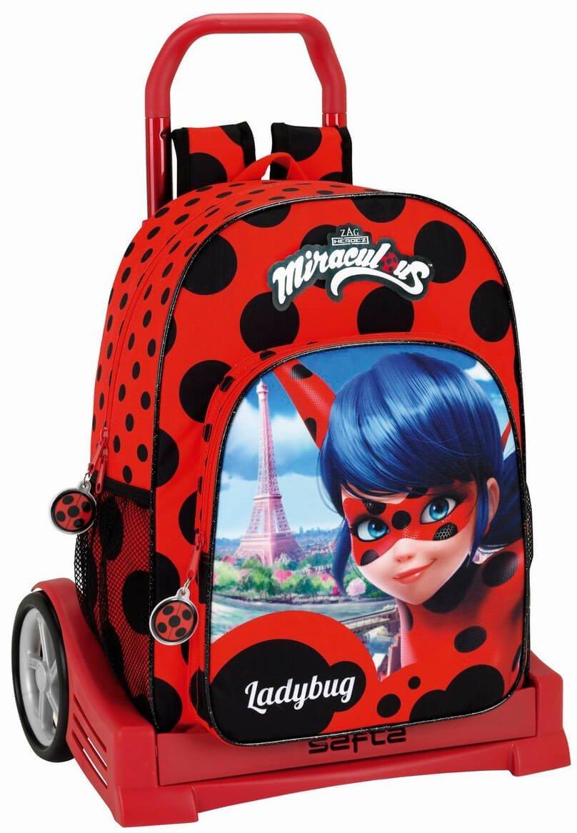 Mochila escolar de Ladybug