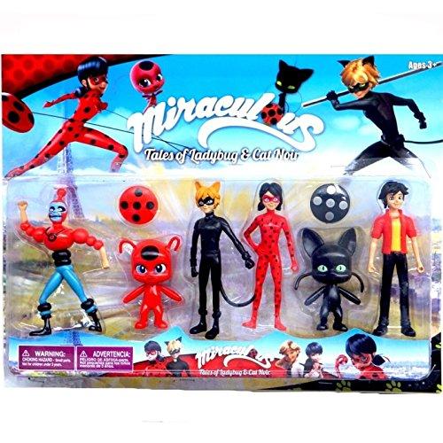 Set de muñecos de Ladybug