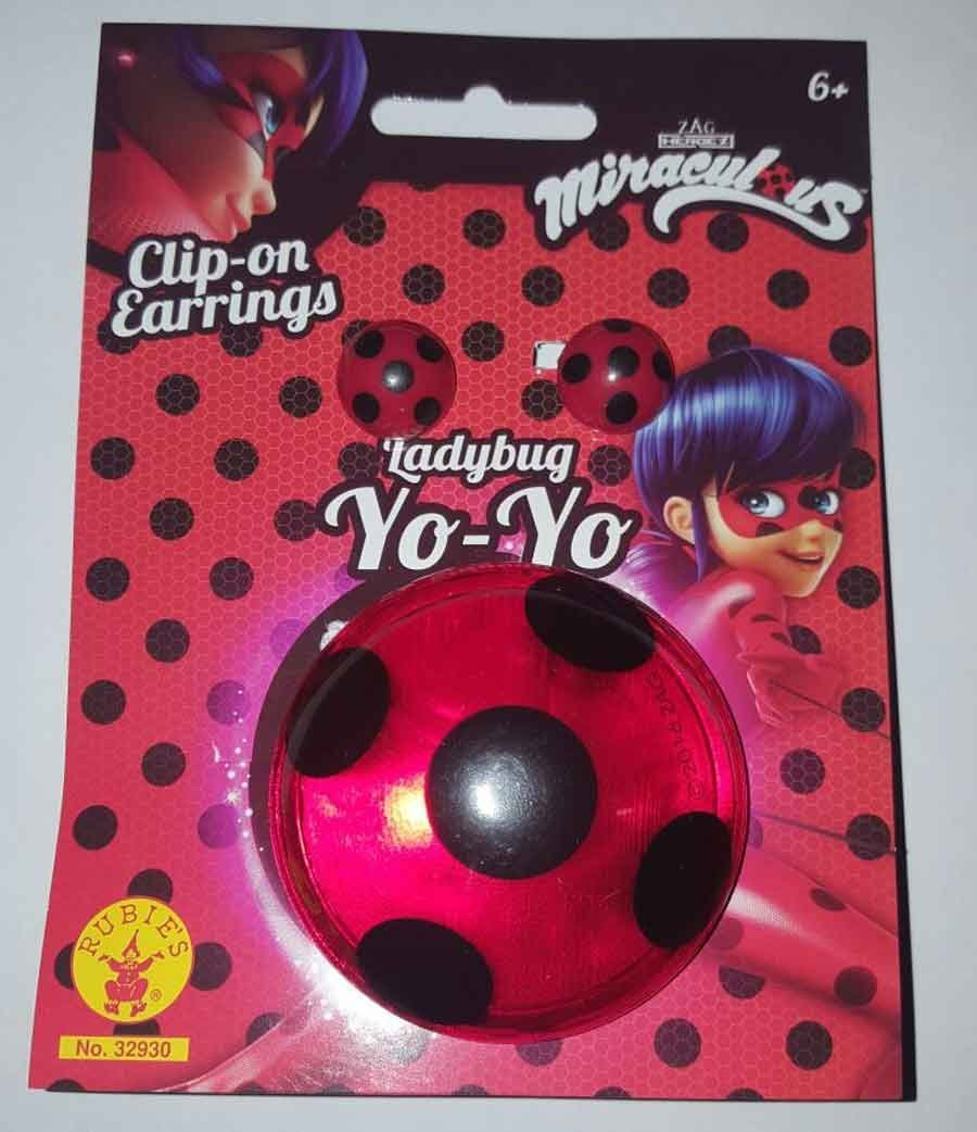 Yoyo de Ladybug paara niños